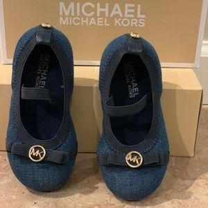 Michael Kors Girls Ballet Flats size 7